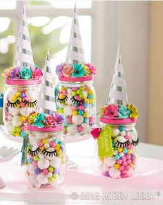 Unicorn birthday party decorations for a girl birthday - Unicorn Party Favors Unicorn Themed Birthday Party, 1st Birthday Parties, Birthday Party Decorations, Girl Birthday, Unicorn Party Favor, 7th Birthday Party For Girls Themes, Rainbow Unicorn Party, Decoration Party, 1st Birthdays