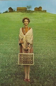 Love this 70s fashion pic! Surreal like a Led Zeppelin cover