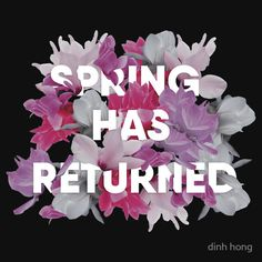 'Spring has returned' Fitted V-Neck T-Shirt by G.D Hong Framed Prints, Canvas Prints, V Neck T Shirt, Spring, Illustration, Behance, Gallery, Check, Products