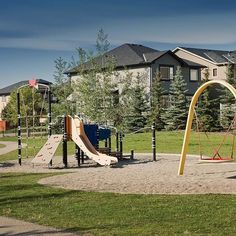 Parks and play spaces are an essential to any community. ⠀  -⠀  Playgrounds have a significant impact on the development of children and the happiness of everyone in the neighbourhood!
