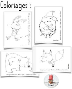 La moufle - Validées Traditional Stories, Drawing Conclusions, Kindergarten Activities, Ms Gs, Art Education, My Drawings, Animation, Teaching, Albums