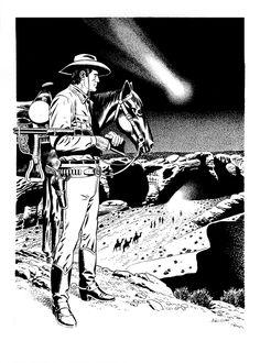 Fabio Civitelli - Tex - Natività. Illustrazione originale •