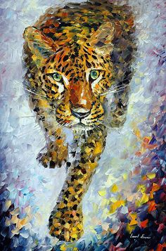 Animals and pets paintings by Leonid Afremov - https://afremov.com/Animals-and-Pets/