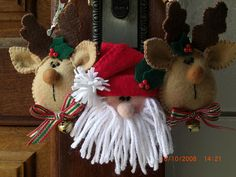 Papai noel e suas renas!! | Flickr - Photo Sharing!