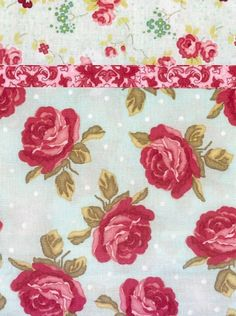 From the Rebecca's Roses collection, beautiful roses in pinks and red with green leaves are resting on a background print of seafoam. The ac...