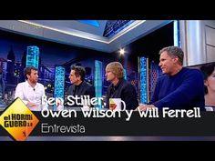 Ben Stiller, Owen Wilson y Will Ferrell en 'El Hormiguero 3.0'