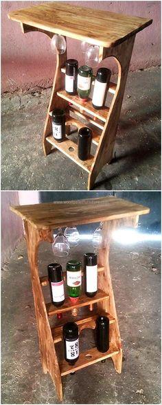 wood pallets bar plan