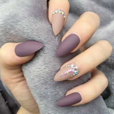 Love the color but preferably coffin or oval tip instead of stiletto.
