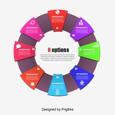 Web Design, Book Design, Graphic Design, Presentation Design, Presentation Templates, Photoshop, Free Powerpoint Templates Download, Personality Chart, Circle Infographic