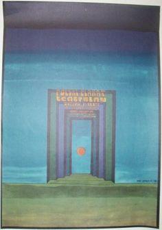 Polish Theater Posters Exhibit, 1975, by Jan Sawka