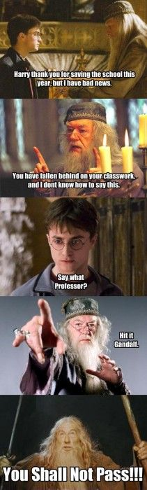 Harry had it coming...
