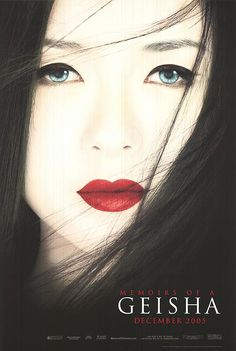 Memoirs Of A Geisha. Loved the book and movie