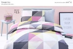 Buy Triangle Geo Kids Bed Set from the Next UK online shop