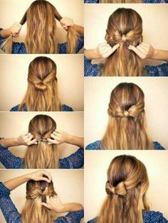 Peinado de moño :)