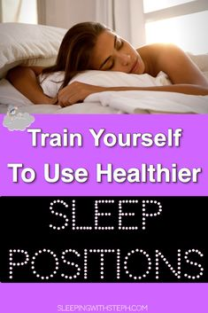 Which sleep position is best? What your sleep position is doing to your health! How to train yourself to use healthier sleep Positions! Cant Sleep Quotes, How To Fall Asleep Quickly, Fatigue Causes, Insomnia Help, Healthy Lifestyle Tips, Healthy Tips, Sleep Solutions, Very Tired, How To Stop Procrastinating