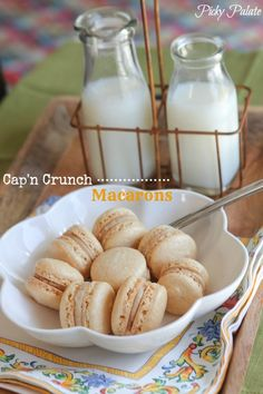 Captain Crunch Macarons by Picky Palate @Jenny Flake, Picky Palate