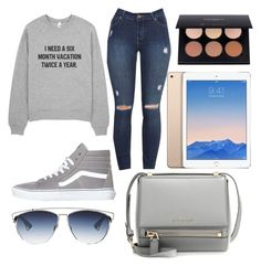 """I need it too "" by kyminzzle-107 ❤ liked on Polyvore featuring Vans, Givenchy and Christian Dior"