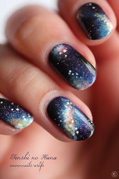 Galaxy Nails by Tenshi no Hana