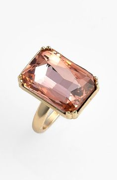 Oversized Gem Ring