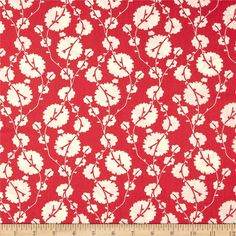 Amy Butler True Colors Cotton Blossom Poppy from Designed by Amy Butler for Westminster/Rowan, this cotton print is perfect for quilting, apparel and home decor accents. Colors include cream and poppy red. Home Decor Fabric, Fabric Crafts, Amy Butler Fabric, Cotton Blossom, Modern Fabric, Red Poppies, True Colors, Fabric Patterns, Fabric Design