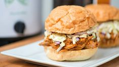 How to make pulled pork in the slow cooker.