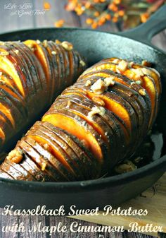 Hasselback Sweet Potato | Life, Love, and Good Food
