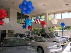 39 Best Car Showroom Balloon Decor Images Balloon Decorations