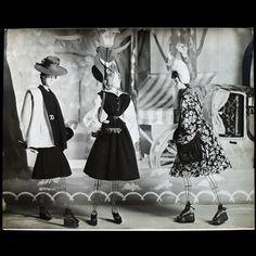 Le Théâtre de la Mode~Un matin aux Champs Elysées, décor d'Emile Grau-Sala (1945)