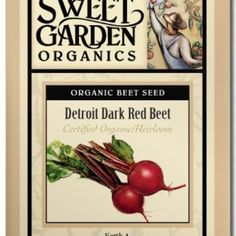 Detroit Dark Red Beet  from The Scribbled Hollow for $2.89 on Square Market