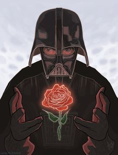 These 25 funny valentines celebrate the upcoming holiday with plenty of geeky jokes about Batman, Star Trek, Star Wars, Doctor Who, and more. Darth Vader Star Wars, Darth Maul, Funny Valentine, Valentine Day Cards, Valentines, Star Wars Art, Star Trek, Bd Pop Art, Geek Art