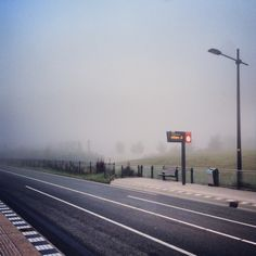 Misty Friday morning