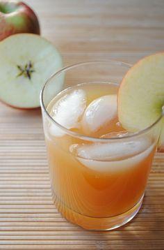 Ginger Cider Bourbon - 2 parts apple cider, 2 parts ginger ale, 1 part bourbon
