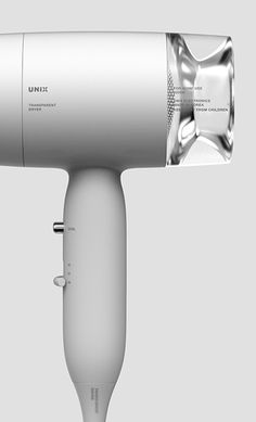 Transparent Dryer / Hair Dryer / 2017 / Product Design / JiyounKim Studio / www.jiyounkim.com