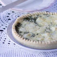 Tarta salada de acelgas y queso brie - Blogosfera Thermomix