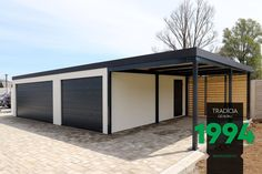 Atypická garáž na mieru Gardeon. Banks, Garage Doors, Outdoor Decor, Home Decor, Decoration Home, Room Decor, Home Interior Design, Carriage Doors, Couches
