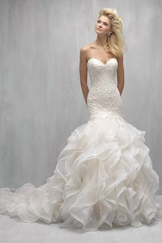 Wedding gown by Madison James (Style MJ265)