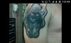 My Disturbed tattoo - The Guy - Morbus
