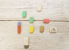 Erasers, beauty is everywhere. I just have to open my mind to see it.