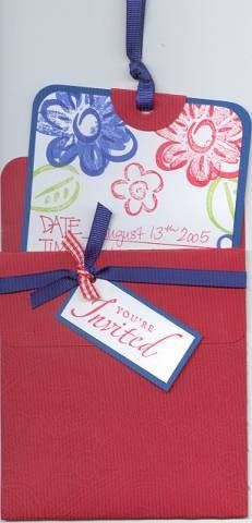 Wedding shower invitation by JJBrooks - Cards and Paper Crafts at Splitcoaststampers