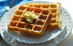 Overnight waffles, make the batter the night before :)