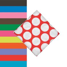 Mix and match patterns and solids for fun party decorations for any occasion! These large polka dot napkins add a fun punch of color to any theme. Bubble Party, Pink Chocolate, Blue Candy, Beverage Napkins, Red Turquoise, Oriental Trading, Best Part Of Me, Hot Pink, Beverages