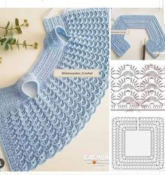 Baby Knitting Patterns, Baby Patterns, Crochet Patterns, Crochet Baby, Knit Crochet, Little Dresses, Straw Bag, Lace Dress, Diy And Crafts