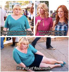 Mermaid dancing! (Sorry about all the fat Amy posts! I love her)