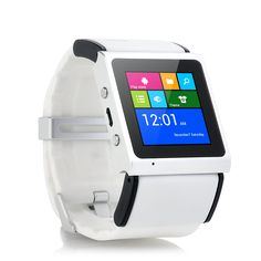 """Fitting comfortable around your wrist, the """"V Strike"""" is not much bigger than a watch and packs a Dual Core CPU for an unseen fast user experience."""