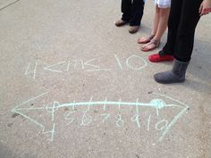 Middle School Math Rules!: Inequalities with sidewalk chalk