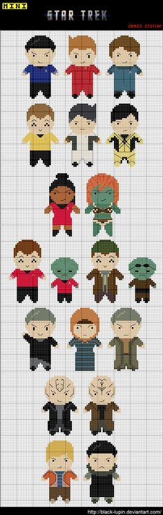 Star Trek - cross stitch