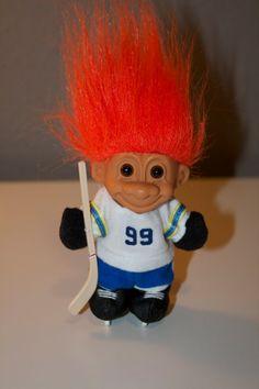 Ice Hockey Troll Doll by Russ by LaneMcKenzie on Etsy, $9.00