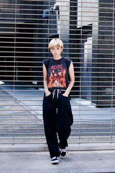 ストリートスナップ大阪 - 福田 ユリヤさん   Fashionsnap.com