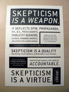 Are you a skeptic?