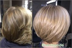 Half head highlights and style